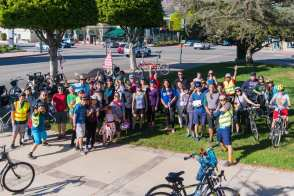 Glendora's group ride and district launch event on Sunday.