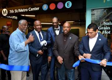 Metro A Line Re-Opening Celebration and Ribbon Cutting