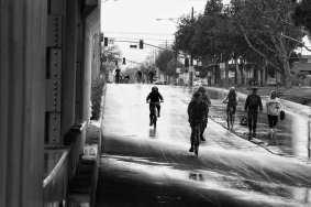 626 Golden Streets in 2017. The rain was fun!