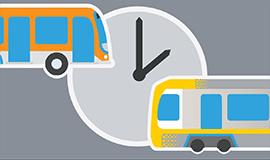 Modified Bus & Train Service