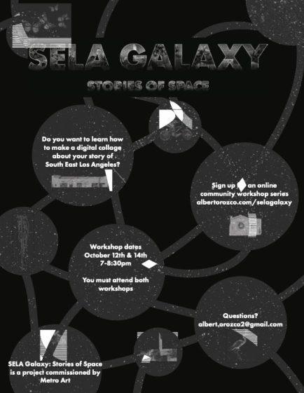 SELA Galaxy: Stories of Space flier designed by Albert Orozco