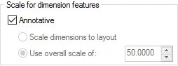 Annotation Scale of AutoCAD