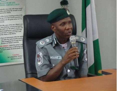 Muhammed Uba Garba: Customs Comptroller, FOU, Zone A
