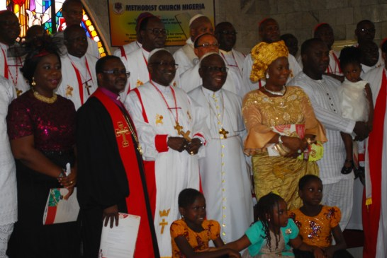 Dr.Samuel Chukwuemeka Uche Kanu,being flanked by friends and well wishers