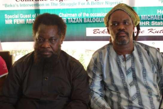 Dr. Femi Aborisade and Mr. Segun Mayeigu