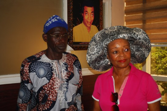 Mr. Aloba Adesegun and Mrs. Bosede Ransome Kuti