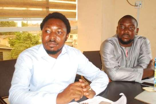Mr.Yinka Folarin and Mr. Balogun Ahmed Martins
