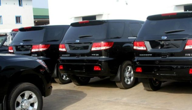 Impounded Assorted Vehicles By The Lagos Roving Team