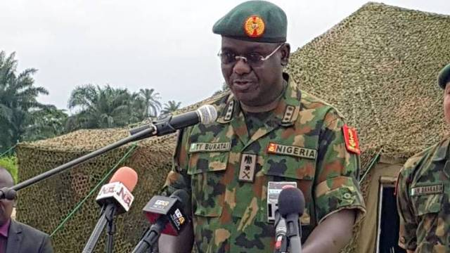 Tukur Buratai, Chief of Army Staff