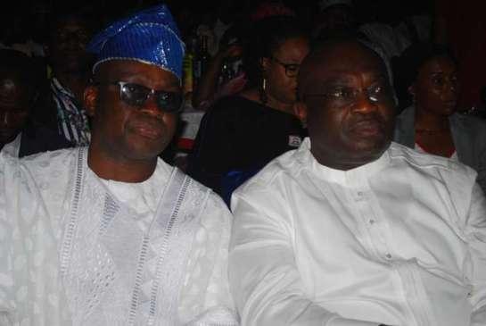 Ayodele Fayose, governor of Ekiti state and Okezie Ikpeazu, governor of Abia state
