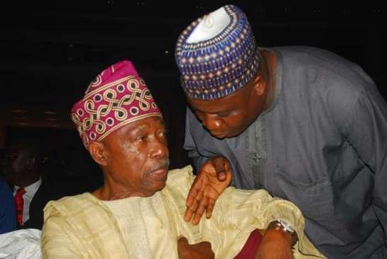 Sam Amuka- Pemu and Ibrahim Aliyu
