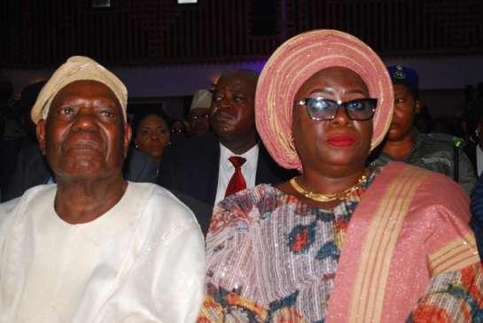 Chief Bisi Akande and Mrs.Yetunde Onanuga