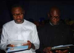 Mr.Femi Otedola and Mr. Kunle Bakare
