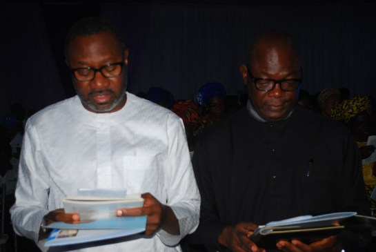 Mr.Femi Otedola and Mr. Kunle Bakare