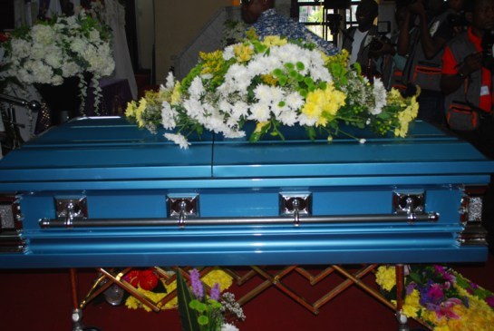 Remains of late Wale Aboderin