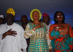 Alhaji Tunde Balogun, Senator Oluremi Tinubu and Hon Jumoke Okoya Thomas