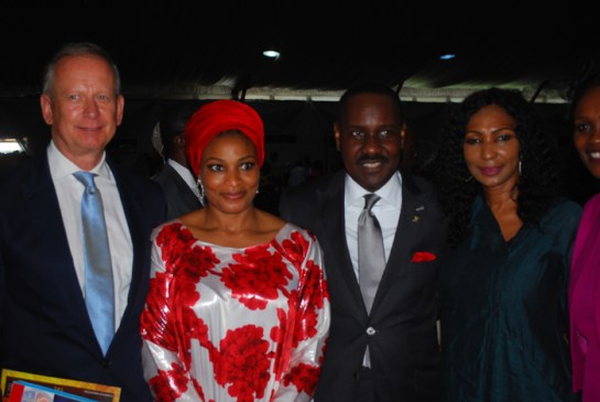 Mr. Ingo Herbert,pastor Mrs Ibidunni Ighodalo,Pastor Ituah Igghodalo and a guest
