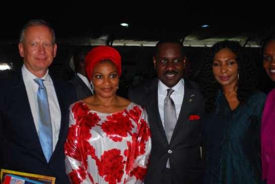 Mr. Ingo Herbert,pastor Mrs Ibidunni Ighodalo,Pastor Ituah Igghodalo and a guest
