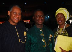 Mr. Odein Ajumogobia, Mr.Dagogo Peterside and Mrs.Awuneba Ajumogobia