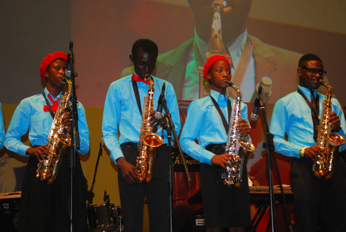 RCCG youth choir performing