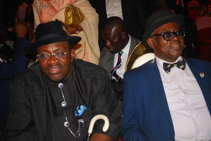 Hon. Seriake Dickson, Bayelsa state governor and a guest