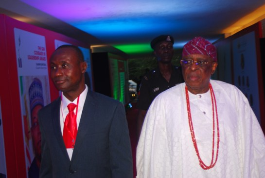 Mr. Onoha Uke and Chief Segun Osoba