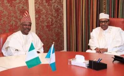 President Buhari and Gov. Amosun