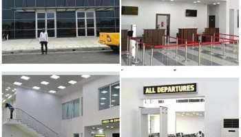 Image result for FG shuts down Akanu Ibiam International Airport Enugu indefinitely today