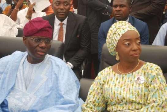 Mr. Babajide Sanwo-olu and his wife Ibijoke