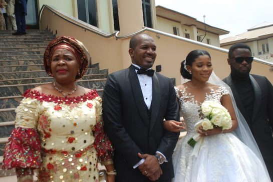 Nkechi Obi, the couple and Ugochukwu Obi