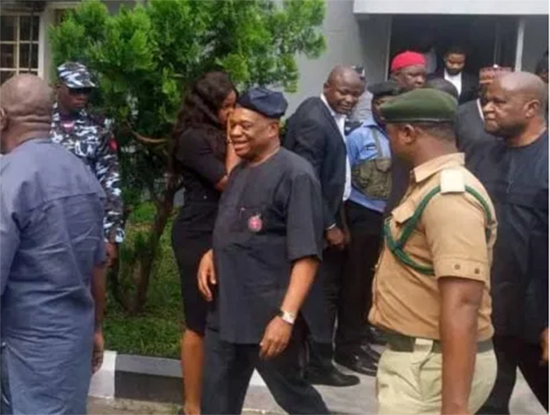 Image result for Court set to rule on Orji Kalu's post-conviction bail application
