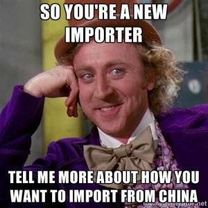 Newbie importer