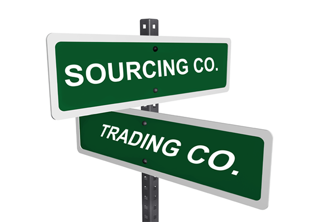 What s the difference between a chinese sourcing trading for Trading group