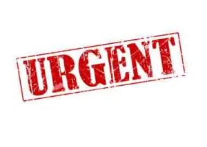 Urgent Order Syndrome
