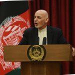 Afghan President Mohammad Ashraf Ghani.