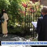 Covid crisis put paid to the plans of Long Island City couple Mark Van Name and Jennifer O'Leary, before a councilman from Queens offered to officiate their wedding.