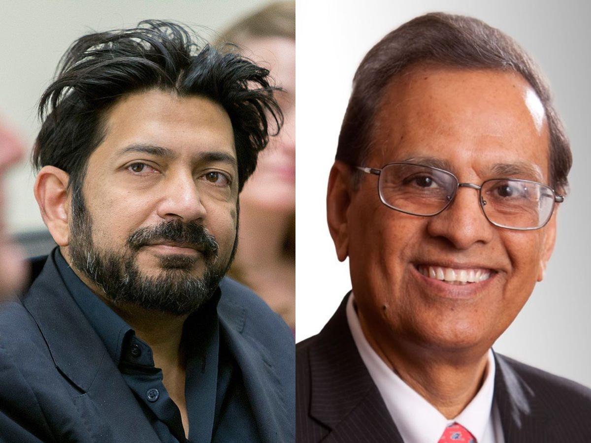 Sid Mukherjee and Satish Tripathi
