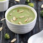 brocolli almond soup