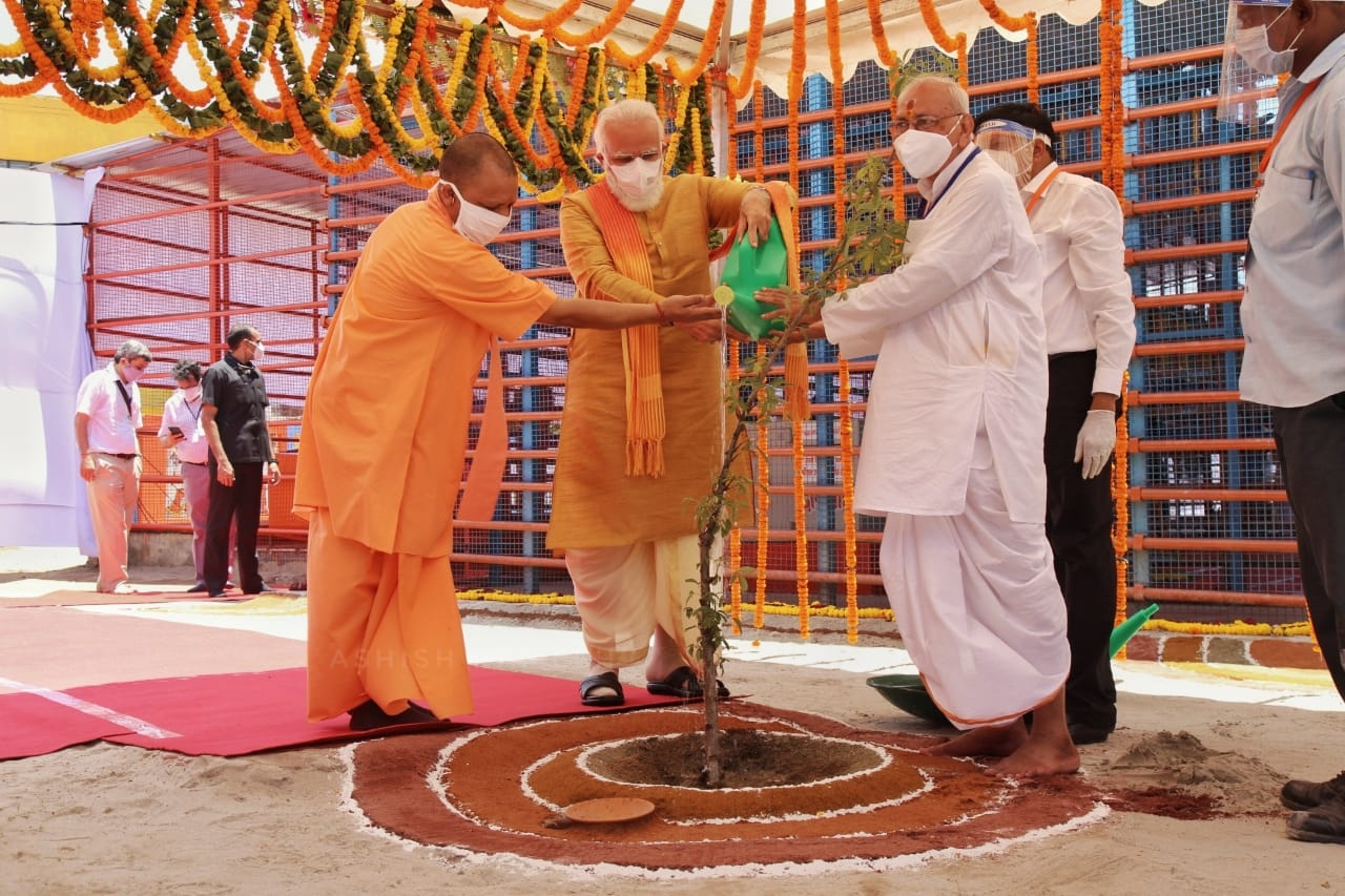 PM Modi at Bhumi Pujan