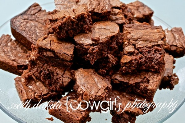 food photography, brown recipe, brownies, south dakota cowgirl photograph, south dakota photographers
