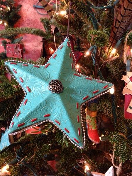 Daytime Christmas tree
