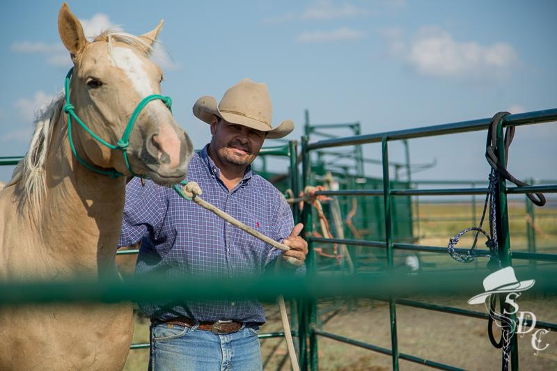 south dakota cowgirl photography, zach ducheneaux, the dx ranch, south dakota, halter breaking horses