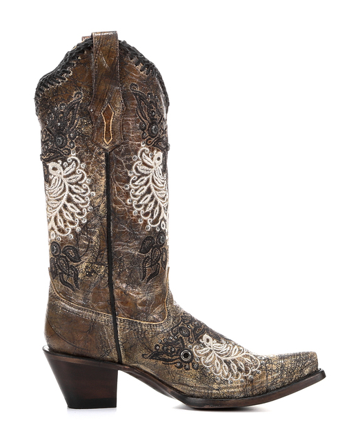 http://www.countryoutfitter.com/products/50986-womens-black-antique-saddle-studs-and-whip-stitch-boot-r1222