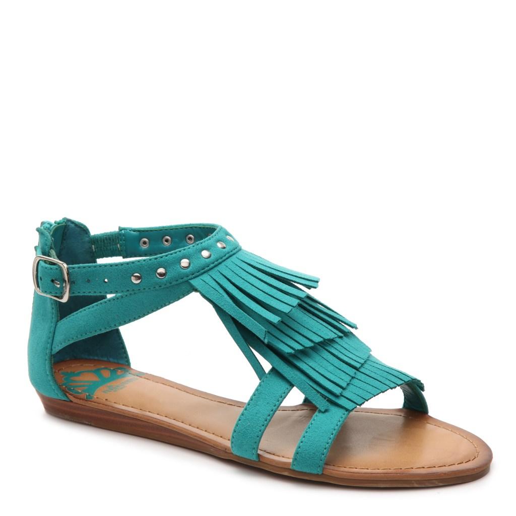 gordmans, boho style, sandals, summer