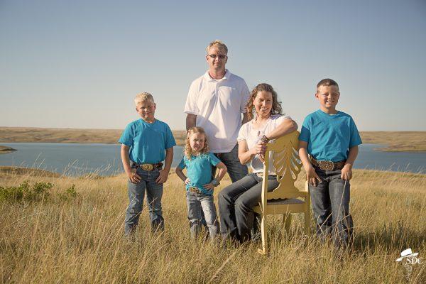 the south dakota cowgirl, family photos