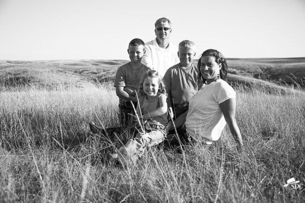the south dakota cowgirl, family photos