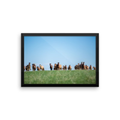 """Coming Home"" Framed Photo Paper Poster"