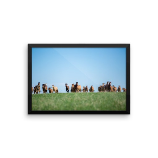 """""""Coming Home"""" Framed Photo Paper Poster"""