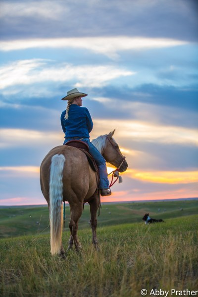 the human spirit, sunset, cowgirl spirit, women can do anything they want