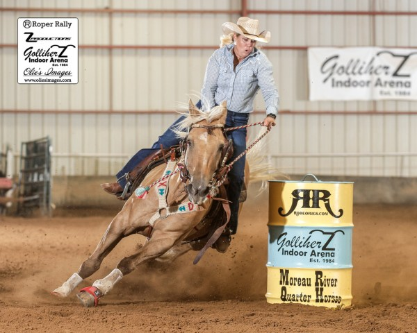 a slot race and more, barrel racing, the south dakota cowgirl